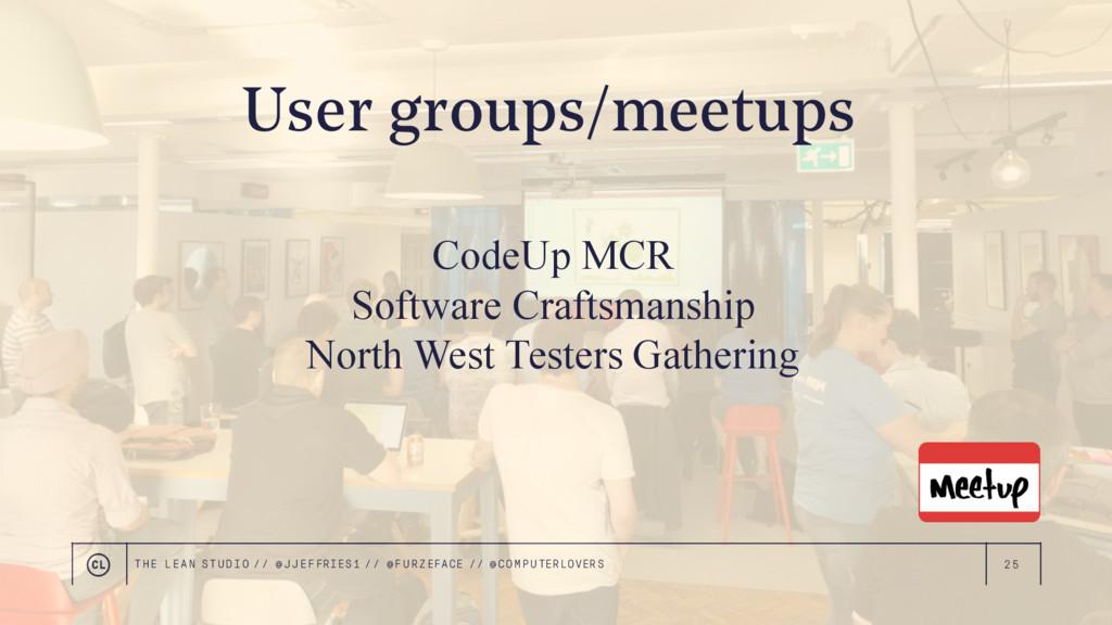 25 CodeUp MCR Software Craftsmanship North West...