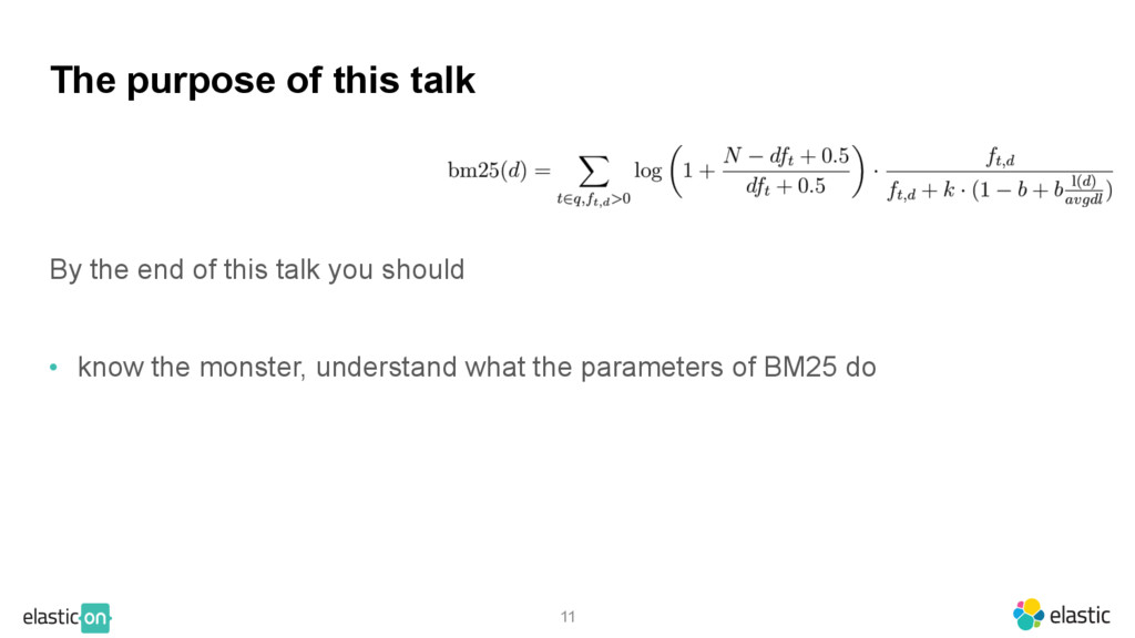 By the end of this talk you should • know the m...