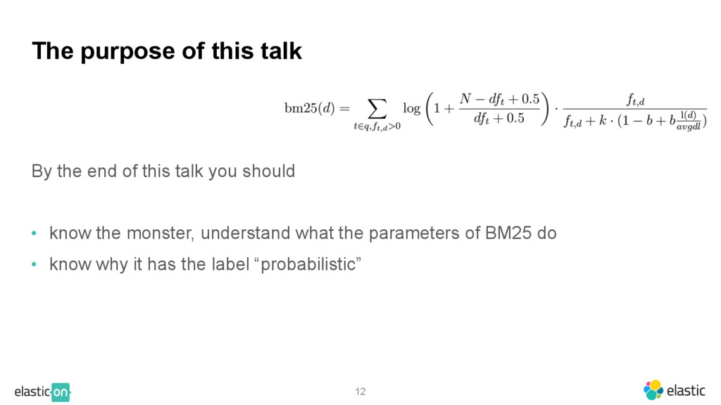 12 The purpose of this talk By the end of this ...