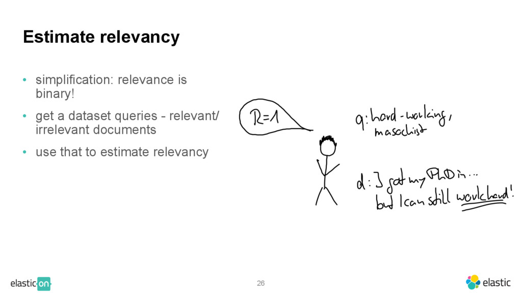 • simplification: relevance is binary! • get a ...