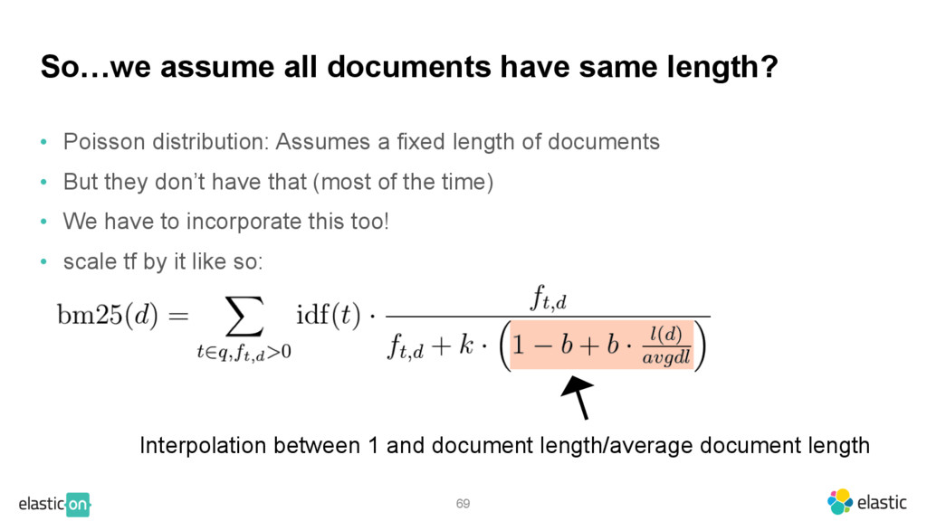 • Poisson distribution: Assumes a fixed length ...