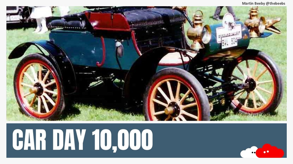 Martin Beeby @thebeebs CAR DAY 10,000