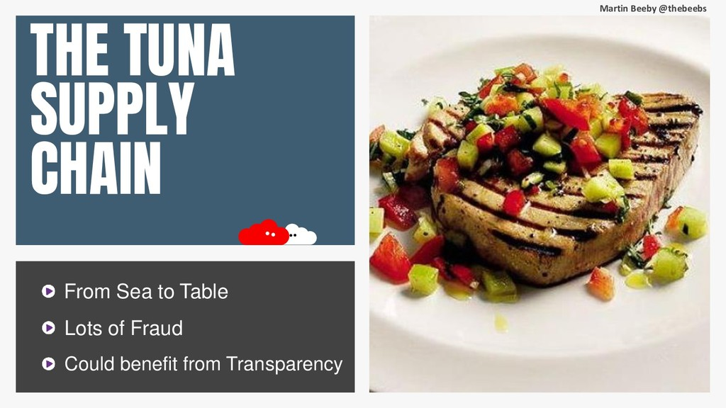 Martin Beeby @thebeebs THE TUNA SUPPLY CHAIN Fr...