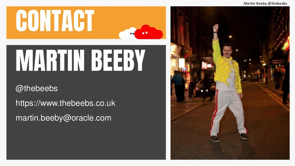 Martin Beeby @thebeebs CONTACT MARTIN BEEBY @th...