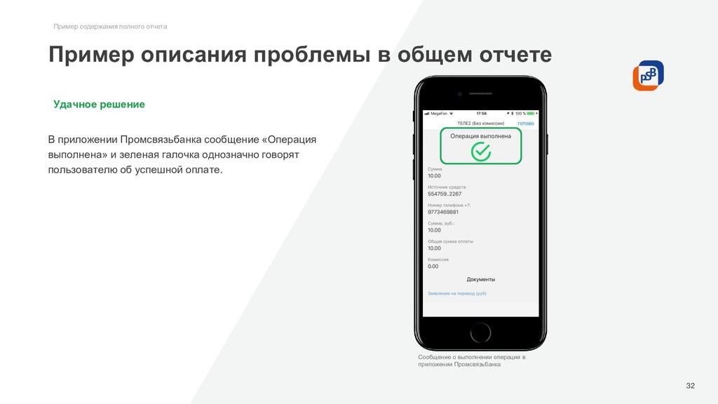 Удачное решение В приложении Промсвязьбанка соо...