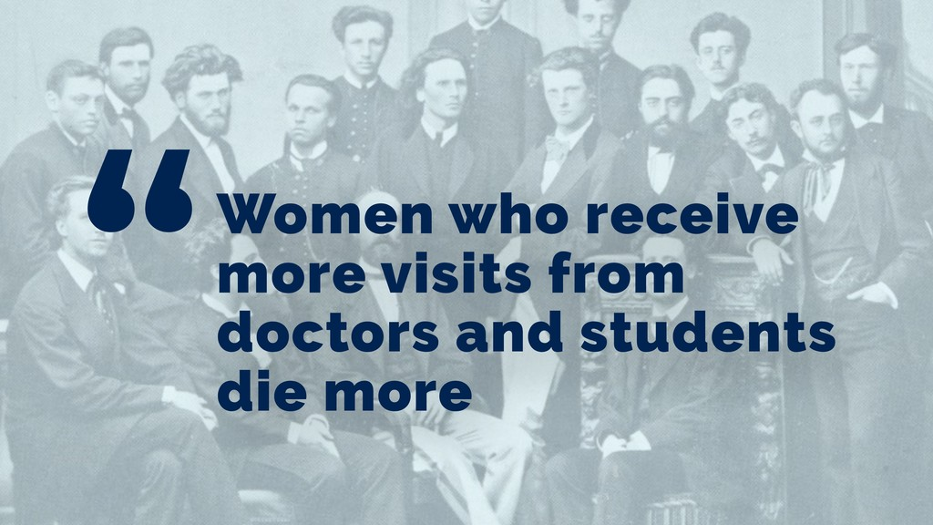 Women who receive more visits from doctors and ...