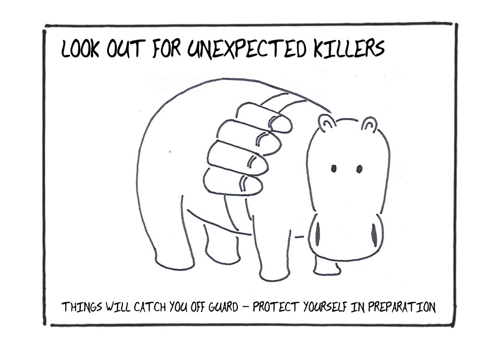 LOOK OUT FOR UNEXPECTED KILLERS THINGS WILL CAT...