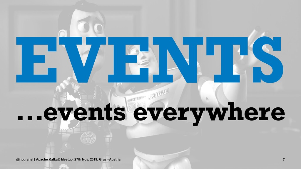 EVENTS ...events everywhere @hpgrahsl | Apache ...