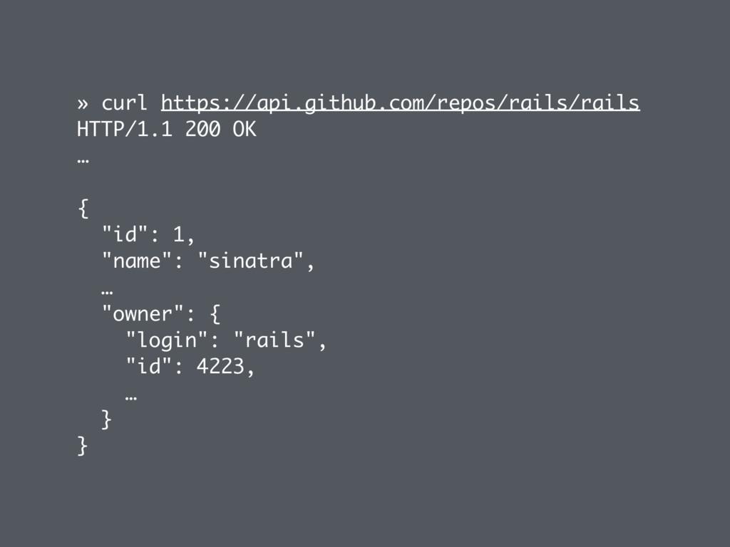 » curl https://api.github.com/repos/rails/rails...