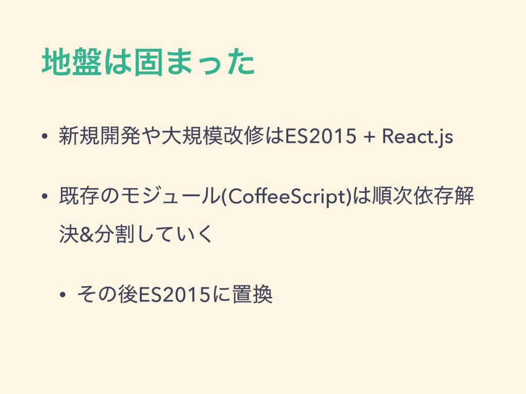 ൫ݻ·ͬͨ • ৽ن։ൃେنվमES2015 + React.js • طଘͷϞδϡ...