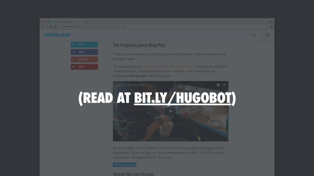 (READ AT BIT.LY/HUGOBOT)