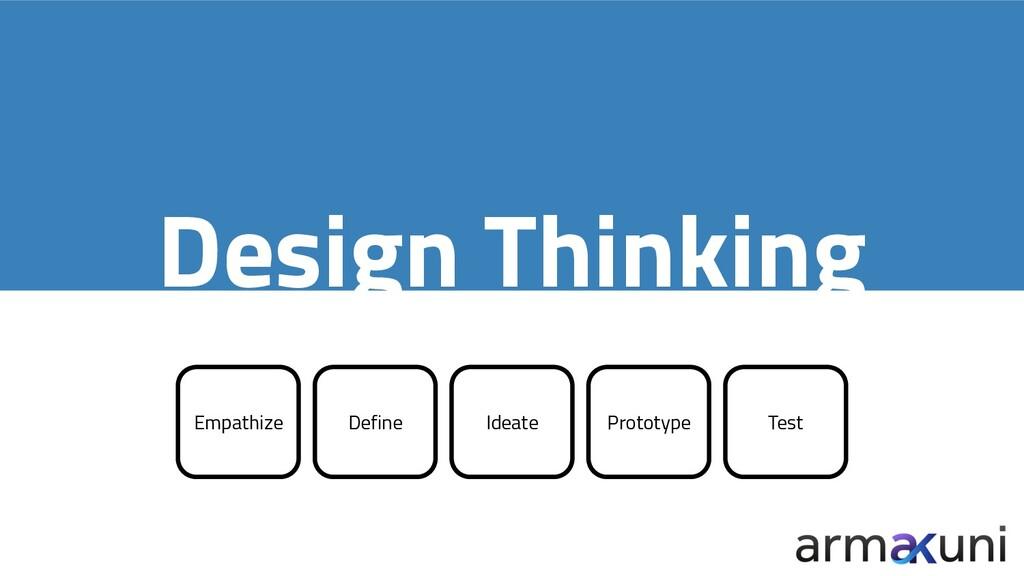 Design Thinking Empathize Define Ideate Prototy...