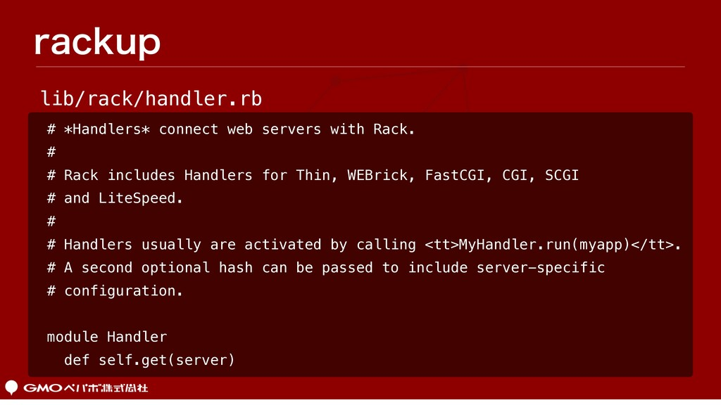 SBDLVQ # *Handlers* connect web servers with Ra...
