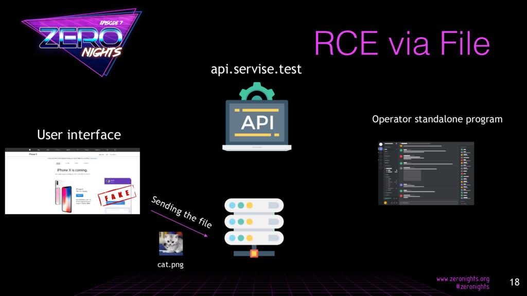 RCE via File api.servise.test Sending the file ...