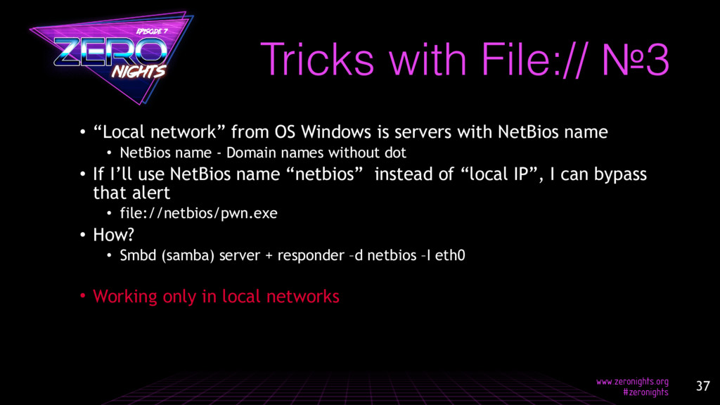 "• ""Local network"" from OS Windows is servers wi..."