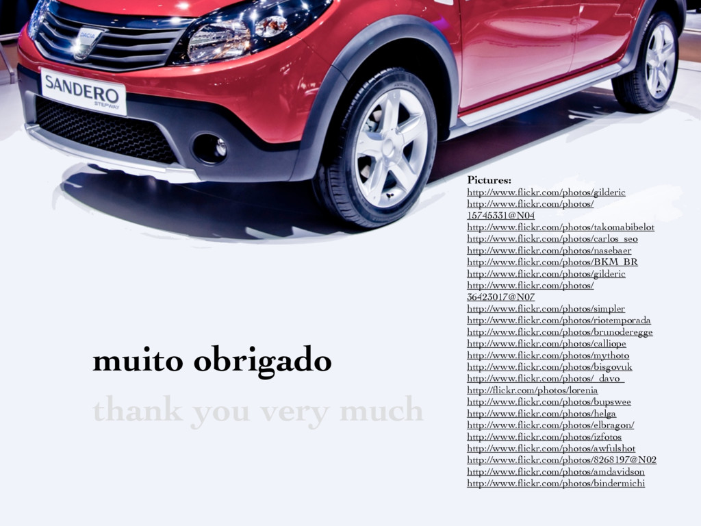 muito obrigado thank you very much Pictures: ht...