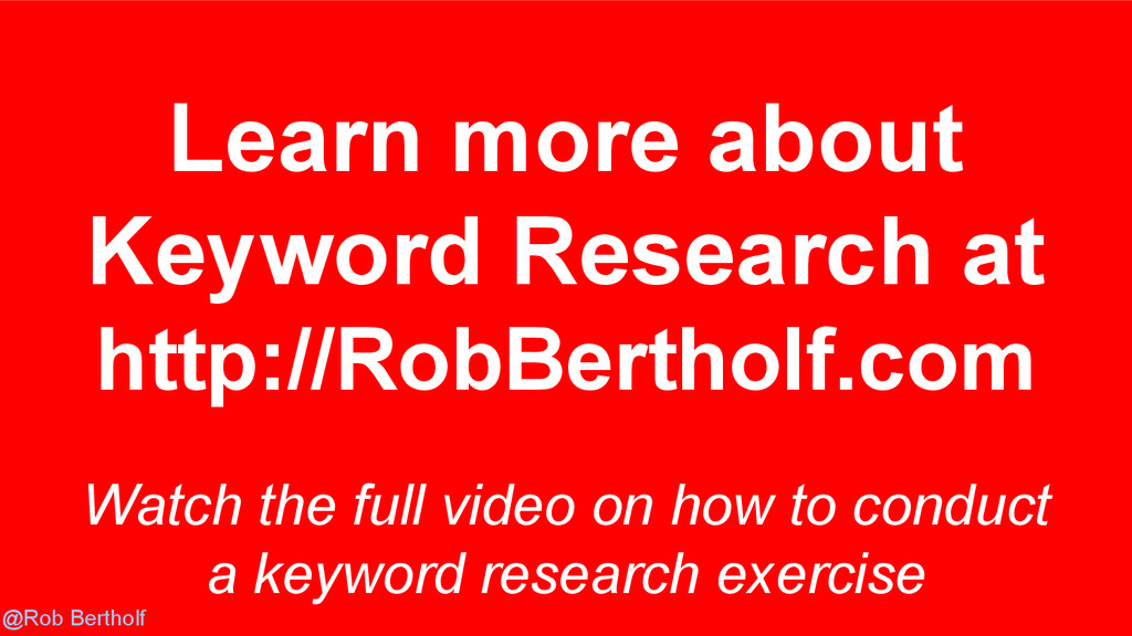 @Rob Bertholf Watch the full video on how to co...