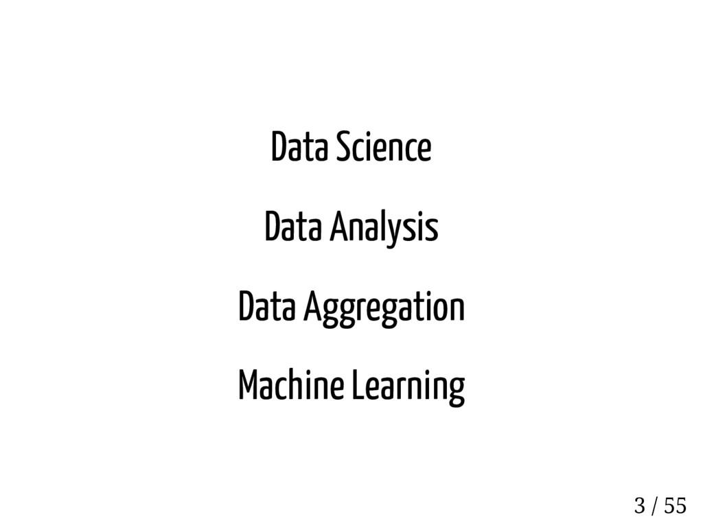 Data Science Data Analysis Data Aggregation Mac...