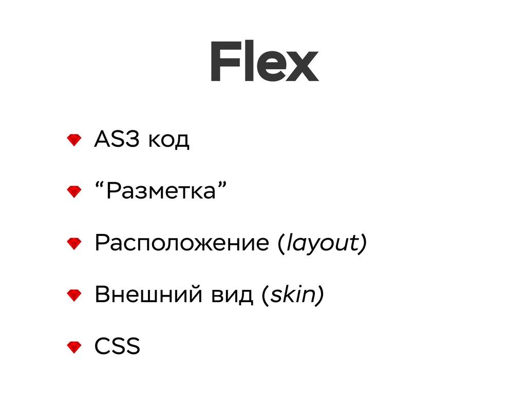 """Flex AS3 код """"Разметка"""" Расположение (layout) В..."""