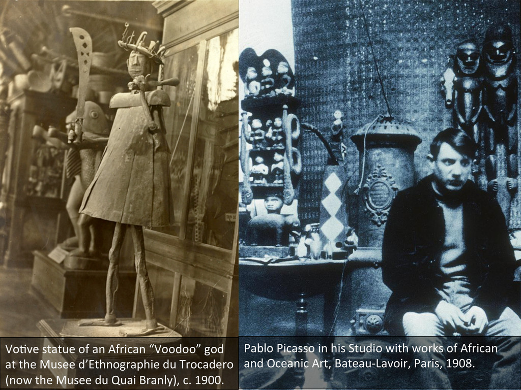 "Vo0ve statue of an African ""Vood..."