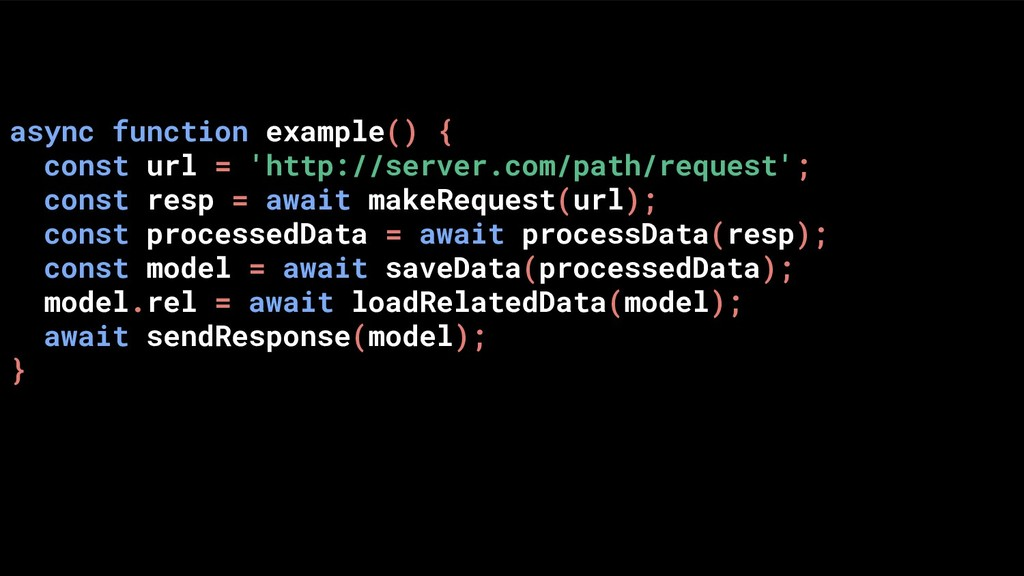 async function example() { const url = 'http://...