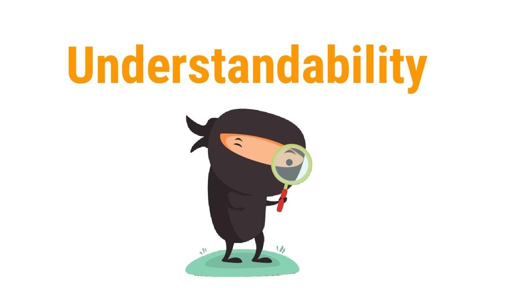 8 Understandability