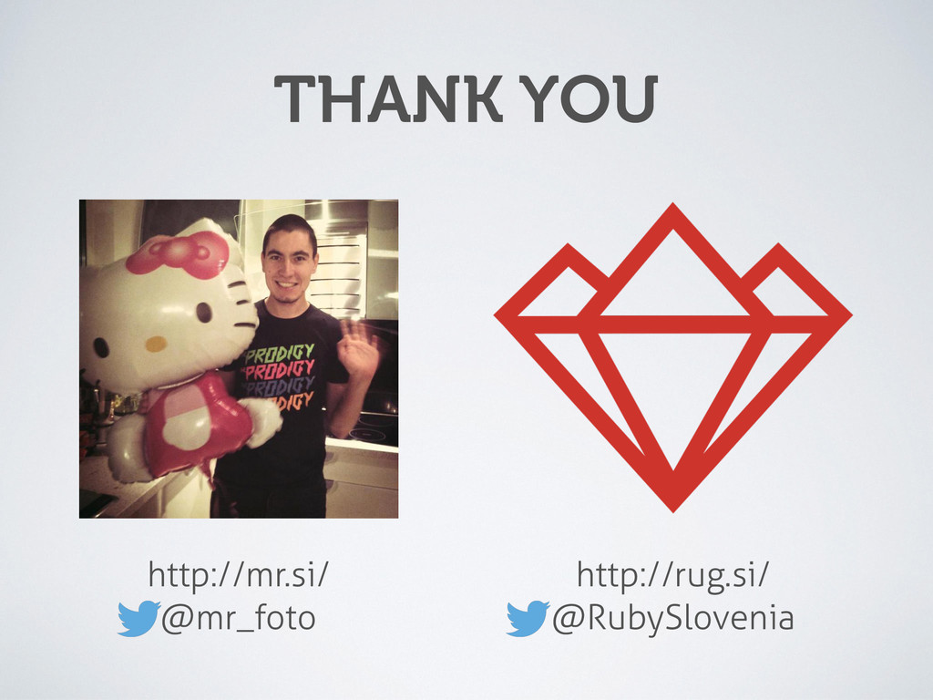 http://mr.si/ @mr_foto THANK YOU http://rug.si...