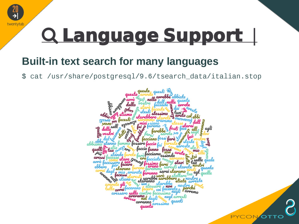  Language Support   Built-in text search for m...
