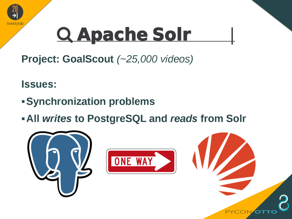  Apache Solr   Project: GoalScout (~25,000 vid...