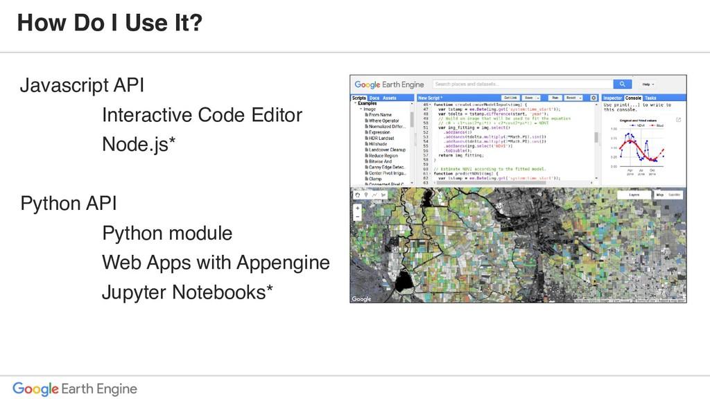 Javascript API Interactive Code Editor Node.js*...