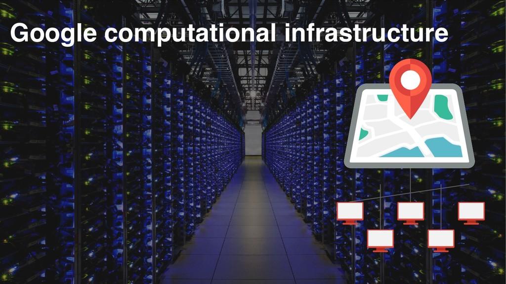 Google computational infrastructure
