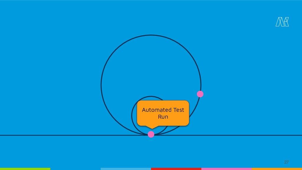 27 Automated Test Run