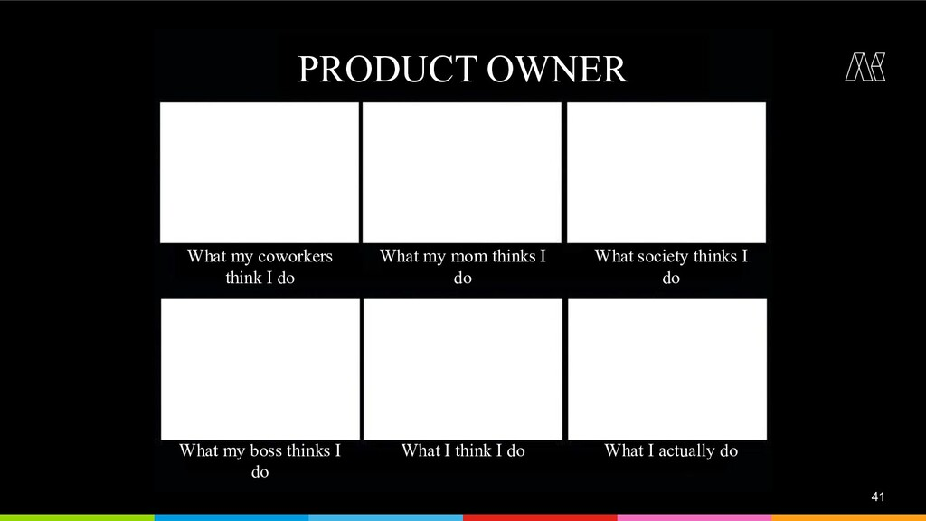 41 PRODUCT OWNER What my coworkers think I do W...
