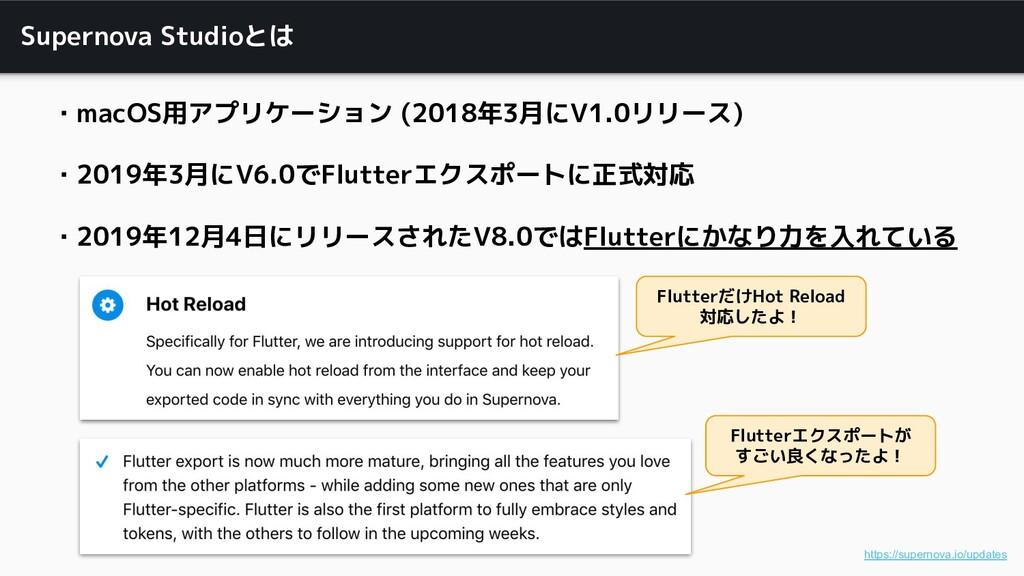 Supernova Studioとは ・macOS用アプリケーション (2018年3月にV1....