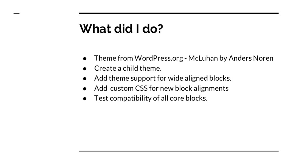● Theme from WordPress.org - McLuhan by Anders ...