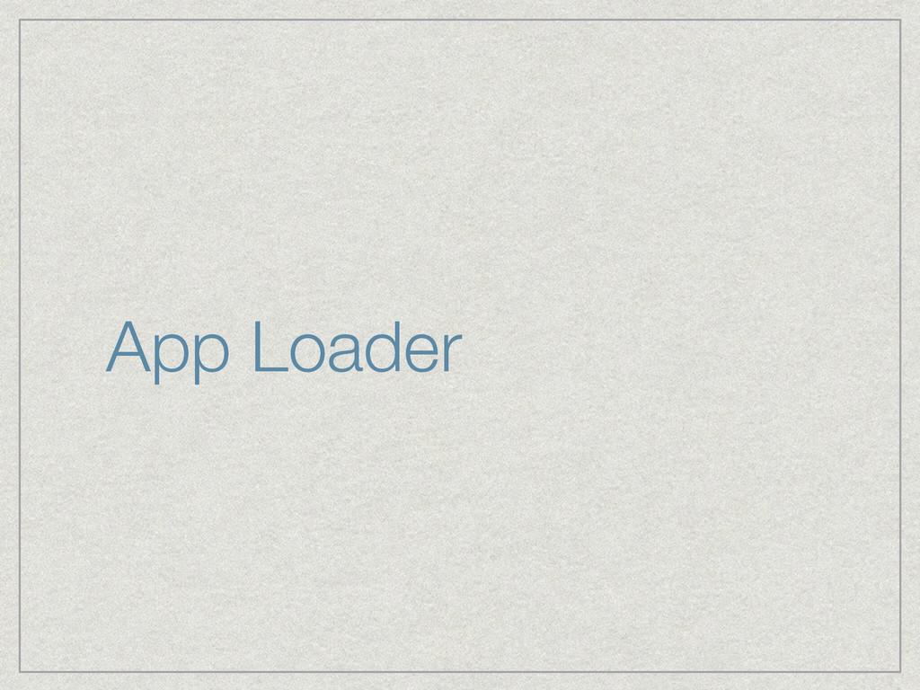 App Loader