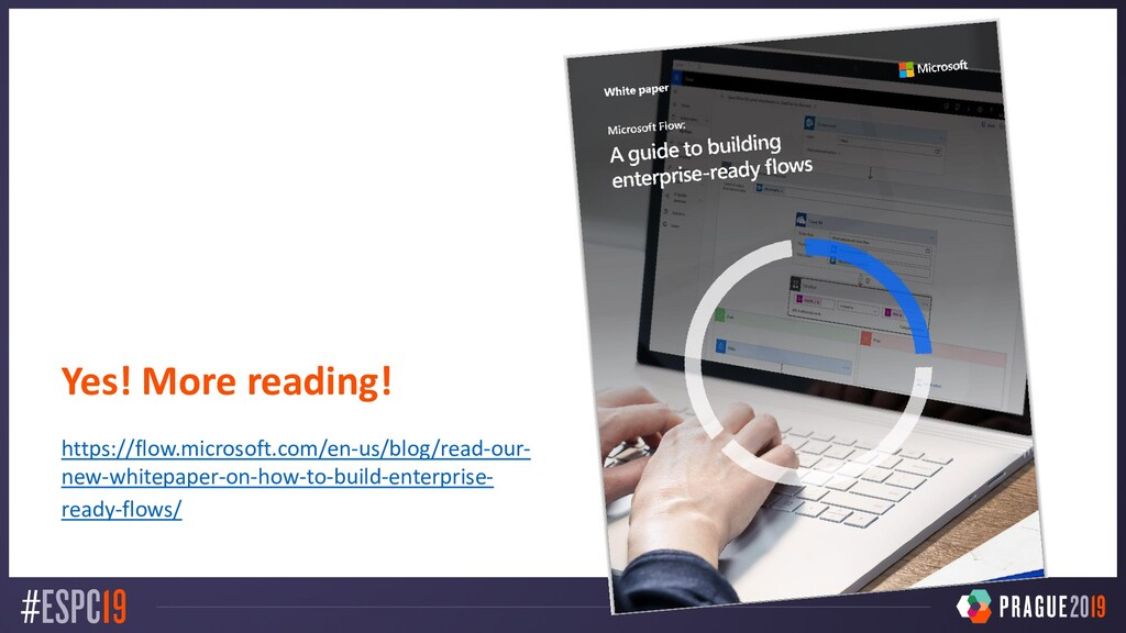 Yes! More reading! https://flow.microsoft.com/e...