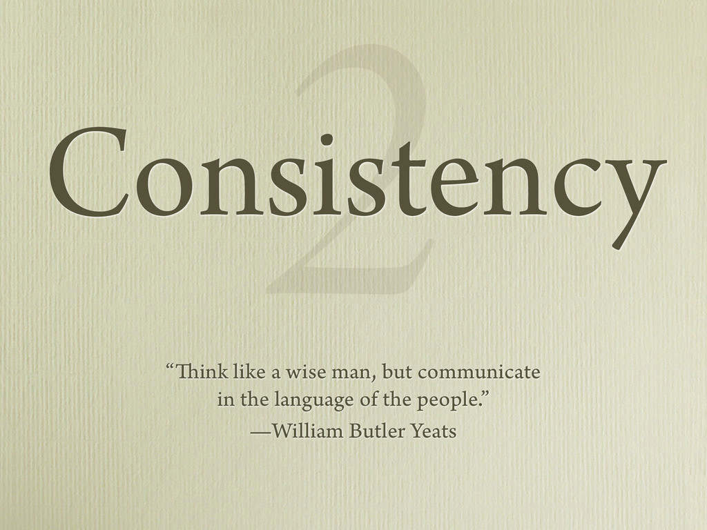 "2 ""Think like a wise man, but communicate in th..."
