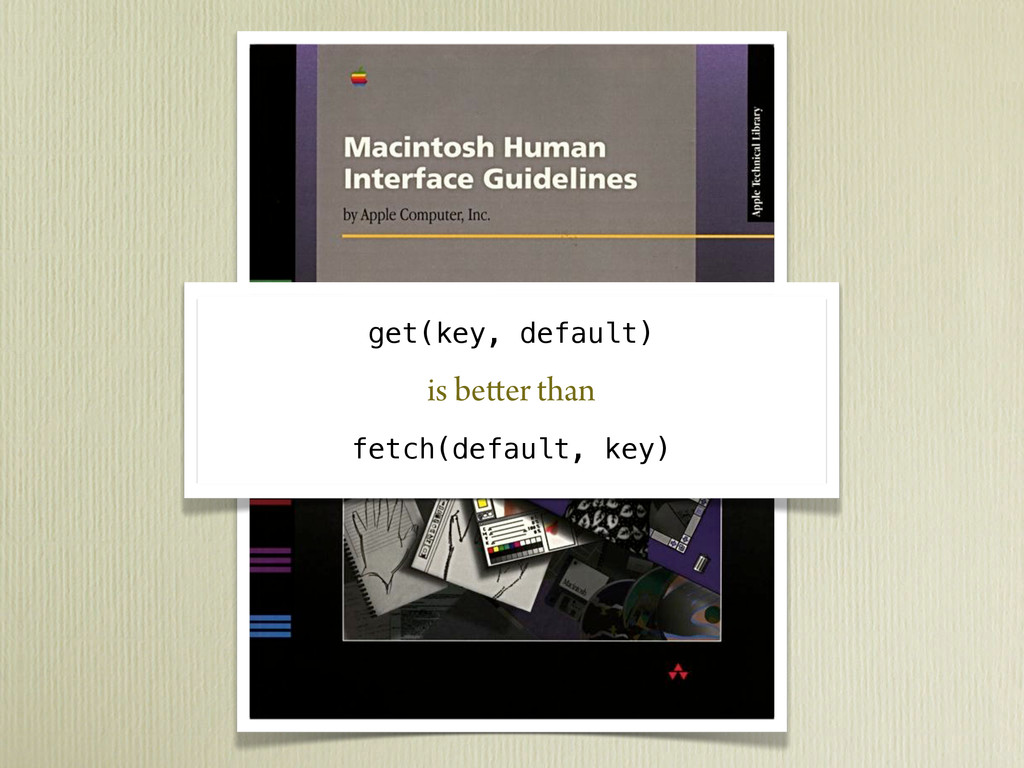 get(key, default) is better than fetch(default,...