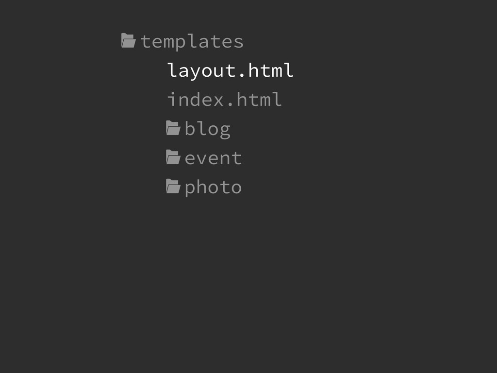 templates ! index.html  blog  event  photo lay...