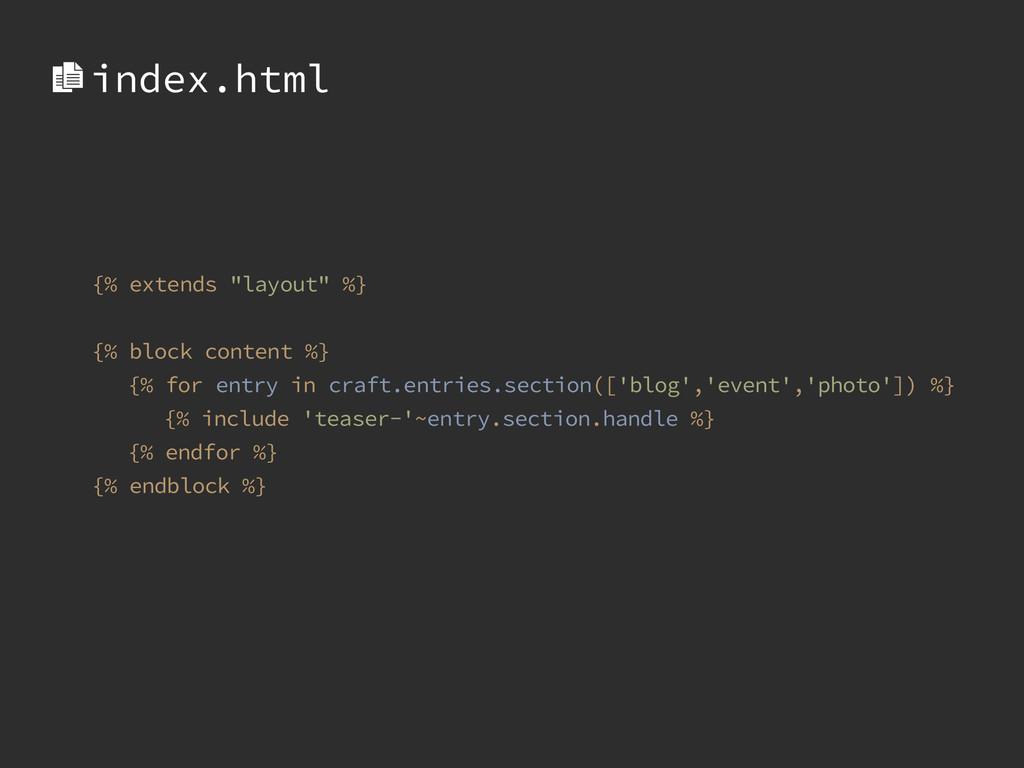 "{% extends ""layout"" %} ! {% block content %} {%..."