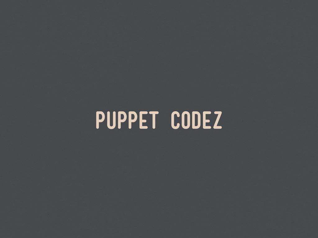 puppet codez