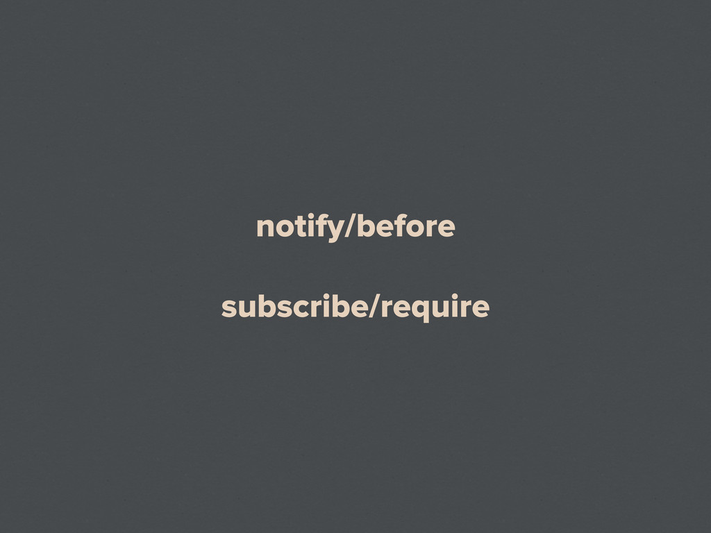 notify/before subscribe/require