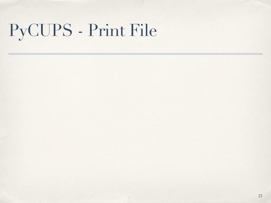 PyCUPS - Print File 21