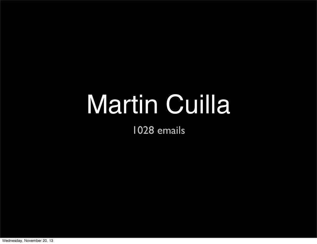 Martin Cuilla 1028 emails Wednesday, November 2...