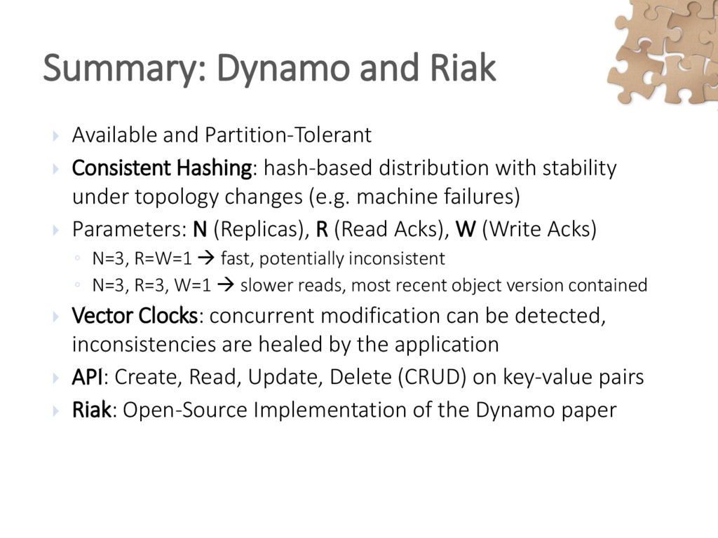  Available and Partition-Tolerant  Consistent...