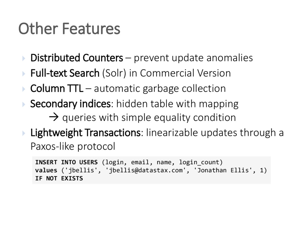  Distributed Counters – prevent update anomali...