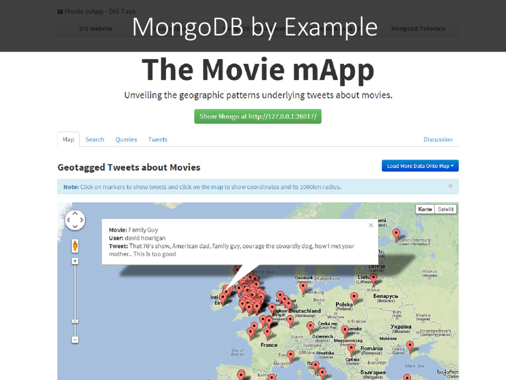MongoDB by Example