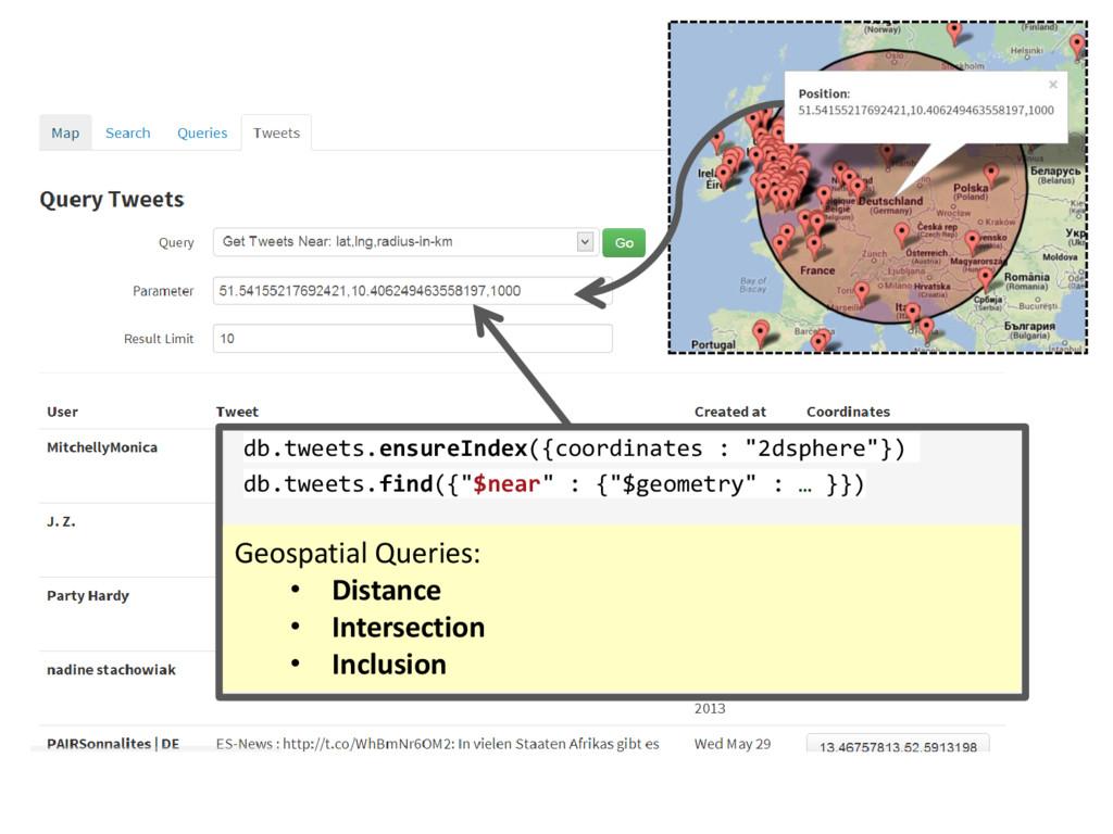 """db.tweets.ensureIndex({coordinates : """"2dsphere""""..."""