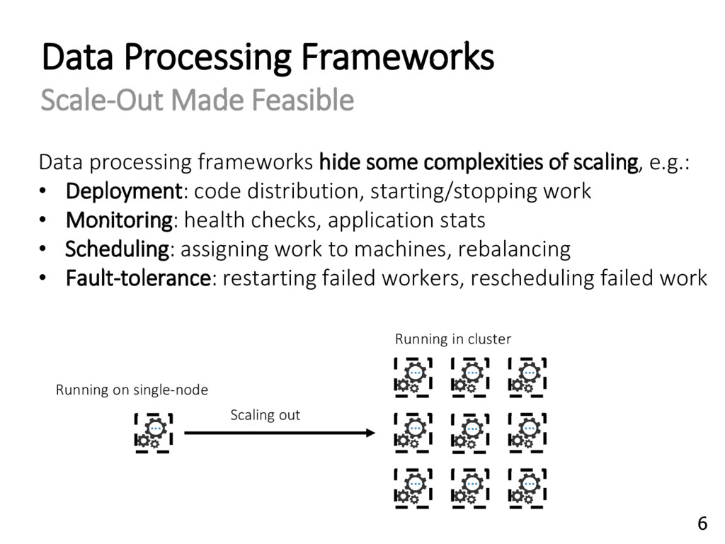 Data processing frameworks hide some complexiti...